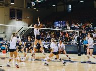 Women's Volleyball Falls to No. 1 BYU