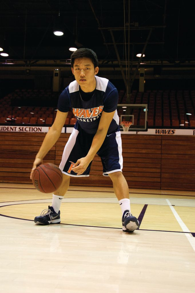 Yi Walks on with Hoops and Hops ‹ Pepperdine Graphic