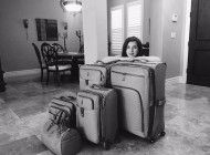 The Lady with Lots of Luggage