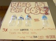 Green Team Campaign Warns Students of the Environmental Harm of Water Bottles