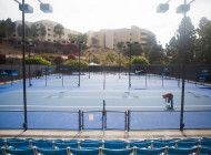 Tennis Courts Get a Facelift