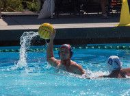 Water Polo Dominates Air Force