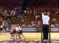 Women's Volleyball Drops Home Game Against Portland