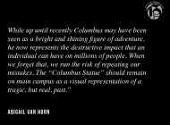 Keep the Columbus Statue