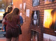 He(Art)Beat Transforms Smothers Lot to Student Art Exhibit