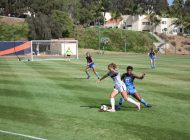 Women's Soccer Dominates at Home