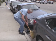 "Jefferson ""Zuma Jay"" Wagner volunteers by cleaning up our streets"