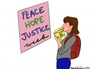 Devote Some Time to Peace, Hope and Justice