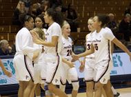 Women's Basketball Drops Two Straight Games to BYU and Gonzaga