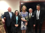 Carolyn Vos Strache Awarded for Four Decades of Leadership