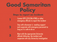Pepperdine Works to Revise Good Samaritan Policy