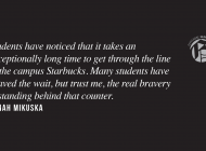 Give Starbucks a Break