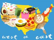 Comparing Culinary Culture from Coast to Coast