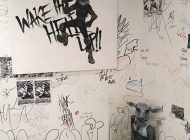 Student Covers Portion of Art Exhibit Per Administration's Request