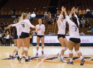 Women's Volleyball Shows Out In Home Opener