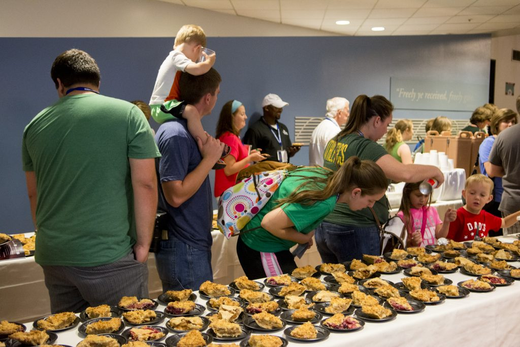 Pie & coffee fundraiser at Harbor.jpg