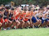 Men's Cross Country Team Climbs the Ranks