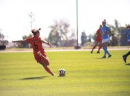 Women's Soccer Cruises Past San Diego on Senior Day