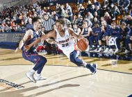 Men's Basketball defends home court against Saint Mary's