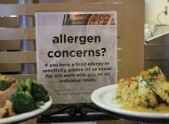 Waves Cafe Posts New Signage Regarding Nut Allergies