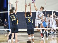 Men's Volleyball Earns Ninth Sweep of the Season