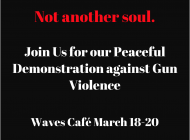 The Reformers Hold Peaceful Demonstration in Waves Cafe