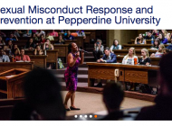 Pepperdine Clarifies Policies in Revised Code of Conduct