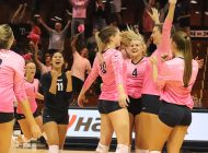 W. Volleyball Pushes Out USD in Second Half of WCC Play