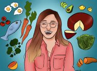 Fresh Face Column 8: First-Year Aims to Help People's Diets