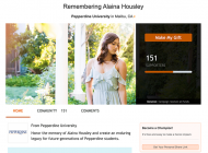 Pepperdine Honors Alaina Housley with Memorial Scholarship