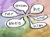 Pronouns Speak Volumes