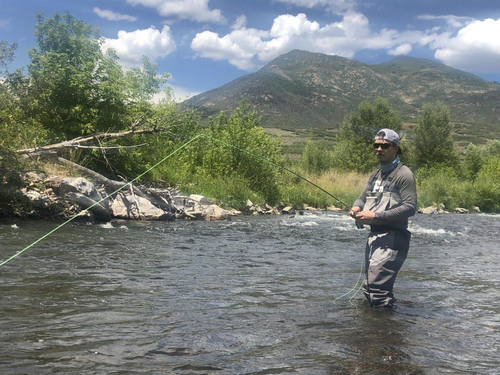 Fisher Browne fly fishes as an activity and says he enjoys doing it on the Provo River in Utah. To gain experience in the courtroom, he also participated in a law internship this summer in Pasadena and saw lawyers work first-hand.