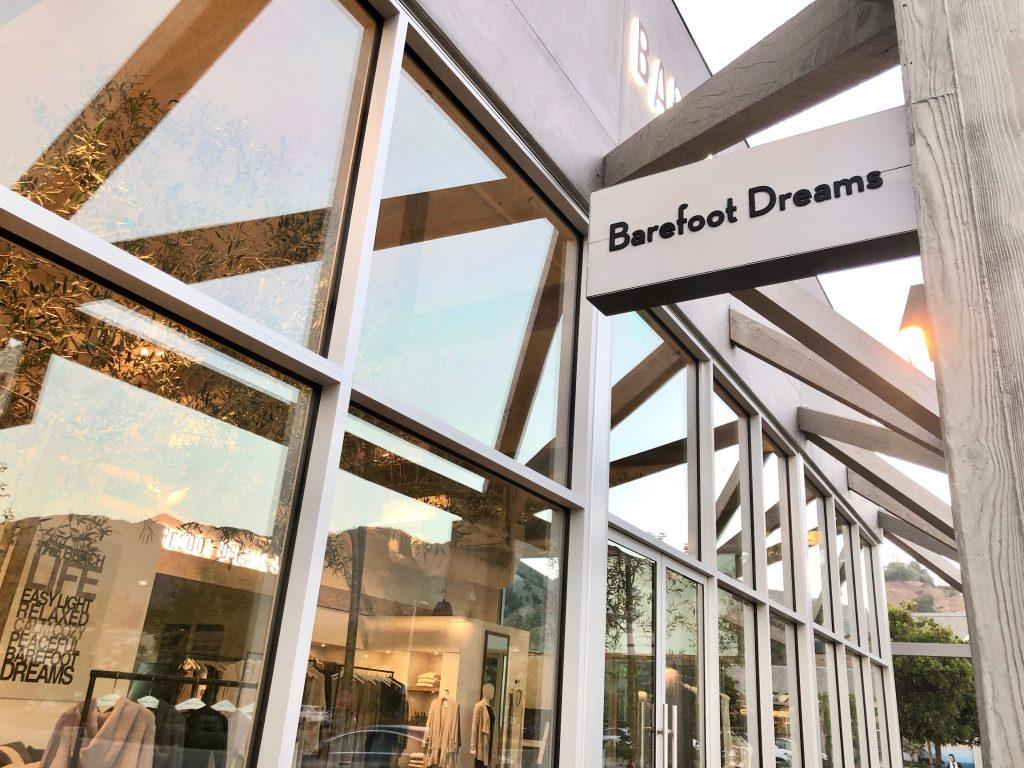 The Barefoot Dreams Malibu store is located at The Park at Cross Creek.