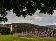 Pepperdine Erects 'Waves of Flags' Memorial on Alumni