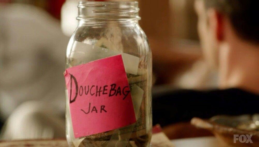 "The characters in ""New Girl"" use what they call the ""douchebag jar"" as an encouragement to be better people. Much like swearing puts a dollar in a swear jar, the group of friends paid into this jar for being awful people. Photo courtesy of Fox"