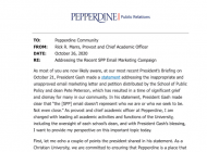 Provost Addresses SPP Email and Reaffirms Pepperdine Mission of Inclusion