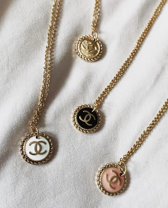 Tyler's most popular pieces are her designer necklaces made with vintage buttons, which launched on her site in October. Tyler said she used to sell on Depop, but now sells items through Instagram and Etsy.