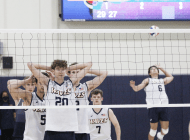 Men's Volleyball Beats GCU in Back-to-Back-to-Back Weekend