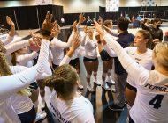 Women's Volley Bows Out of Big Dance in Round of 32