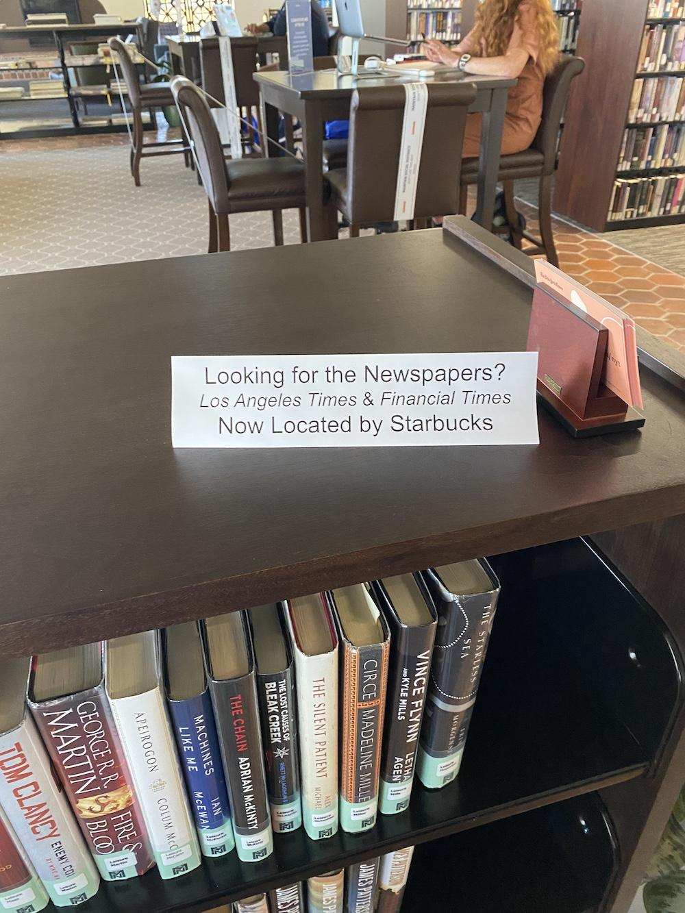 Pepperdine libraries are trying to both following regulations, and allow students to use the library efficiently March 15. Staff at the library have arranged the facility in ways that reduce crowding and encourage social distancing.