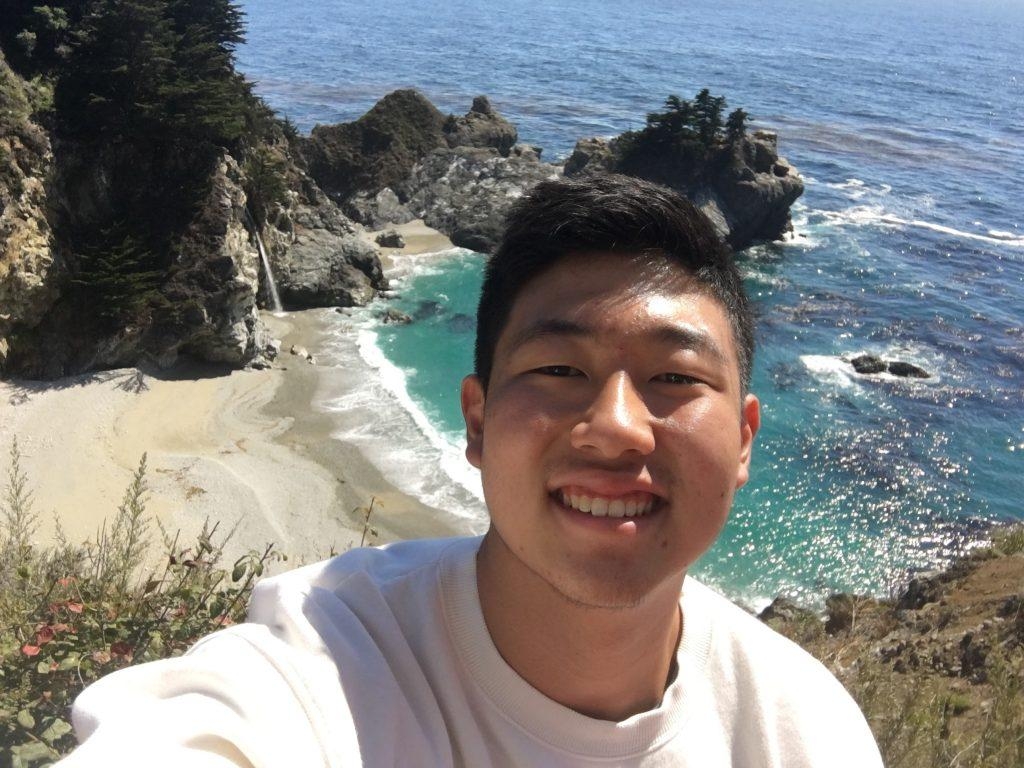 Senior David Kim visits Big Sur, Calif., in February 2020. Kim said he chose to study education with the hope of one day becoming a high school science teacher. Photo Courtesy of David Kim