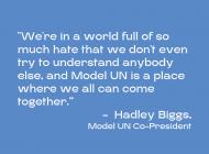 Pepperdine Model United Nations Named 'Distinguished Delegation' at National Conference