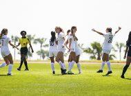 Soccer Scores Early, Often in 7-0 Senior Day Victory