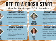 First-Year Class Officers Set Intentions for the Academic Year