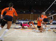 Women's Indoor Volleyball Falls to BYU in Four Sets