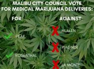Malibu City Council Votes to Ban Medical Marijuana Delivery