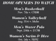 Don't Miss This Semester's Biggest Home Games