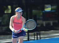 The Women's Tennis team tastes their first home defeat of the season