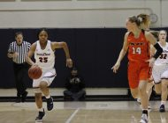 Red-Hot Women's Hoops Wins Seventh and Eighth Consecutive Games