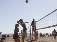 Beach Volleyball Dominates Waves Invite at Zuma